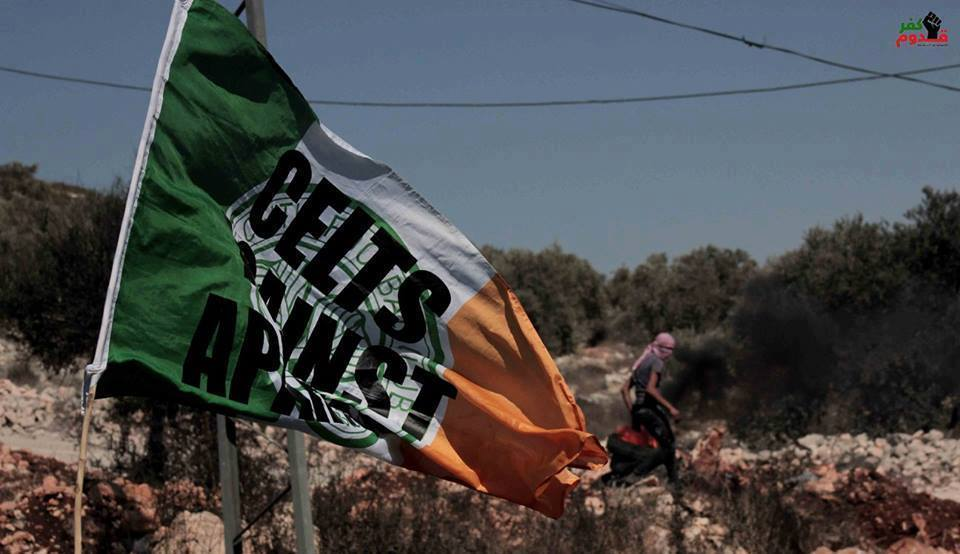 IPNOT PICTURE OF THE DAY October 7th: Flying the Flag of Solidarity in Kufr Qaddoum