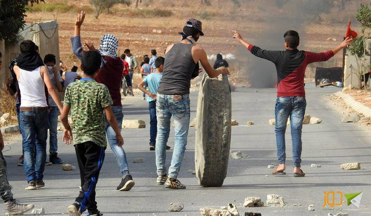IPNOT PICTURE OF THE DAY from November 10th 2016: Clashes in Beit Furik