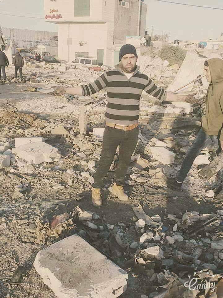 IMAGEN IPNOT DE HOY 19.01.2017 – CONTINÚAN LAS DEMOLICIONES EN LA PALESTINA OCUPADA / IPNOT PUCTURE OF THE DAY January 19th 2017: Israel Continues Demolitions In Occupied Palestine
