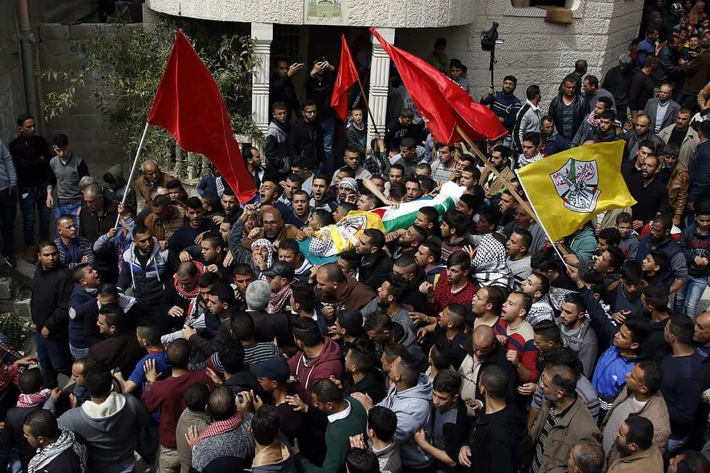 IPNOT PICTURE OF THE DAY from March 18th 2017: The Funeral of Murad AbuGhazi
