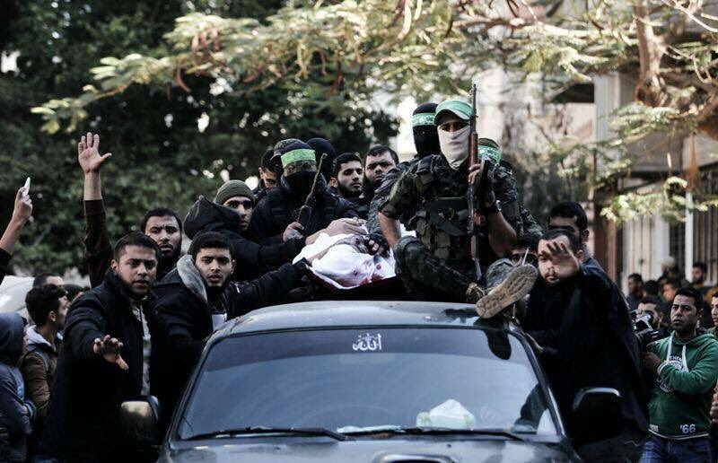 TWO AL-QASSAM FIGHTERS KILLED IN BESIEGED GAZA ON SATURDAY