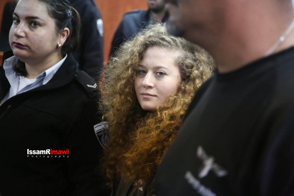ISRAEL EXTENDS IMPRISONMENT OF AHED TAMIMI AND HER MOTHER UNTIL MARCH 11TH