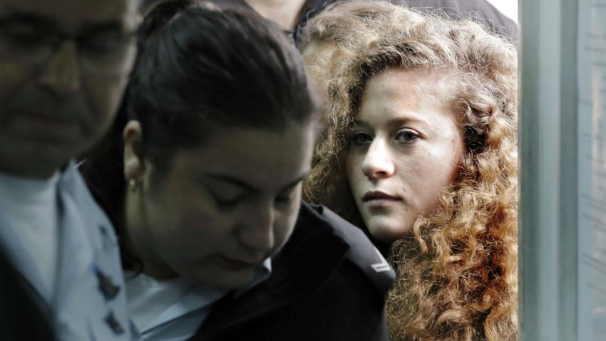 Month of Innocent Children Victims of Agression: ISRAEL DENIES EARLY RELEASE FOR AHED TAMIMI