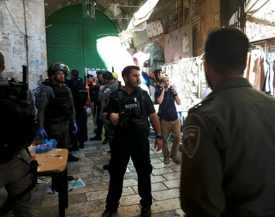 PALESTINIAN CITIZEN OF ISRAEL KILLED IN OCCUPIED EAST JERUSALEM INCIDENT