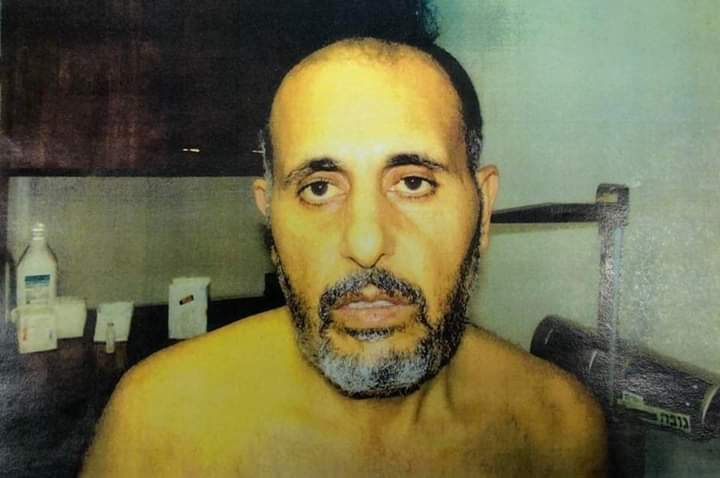 IMAGES OF POLITICAL PRISONER REVEAL MARKS OF TORTURE BY ISRAELI OCCUPATION